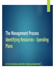Step Three -- Spending Plans and Credit as Resources (1).pptx