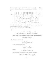 Linear Algebra Solutions 45
