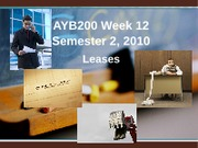 AYB200 Week 12 Leases