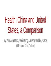 12-Group 3_China and US Health Comparison