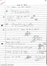 Planes Spheres Surfaces and Equations Class Notes