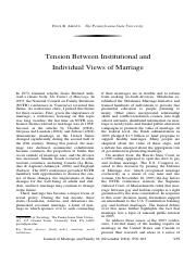 Amato_Tensions between Institutionalized and Individual Views of Marriage.pdf