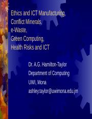 Safety, Health and Environmental Effects of ICT v7 (5)