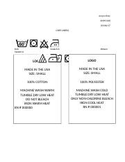 AMM 260 - Care labels.docx