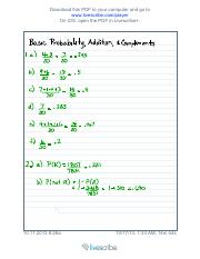 Basic Probability, Addition, and Complements - 2013-10-17T06-56-22-0