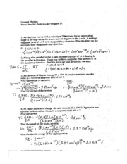 Physics Problems 001
