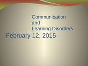 Lecture+11+-+Communication+and+Learning+Disorders+-+W2015+-+to+post