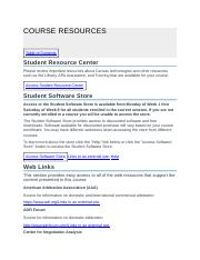COURSE RESOURCES.docx