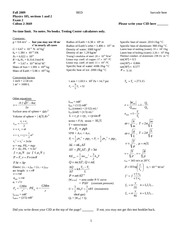exam 2 - Fall 2009 - solutions