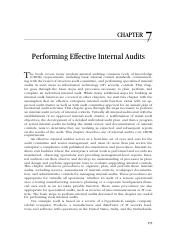 2-7_Performing Effective Internal Audits