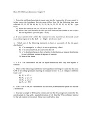 chapter 9 old exam problems