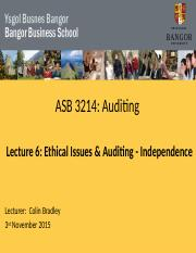 Lecture 6 A2015 Ethical issues & auditing.pptx