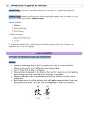 Unit 4 Revision Booklet