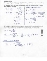 5. Test 3 Solutions