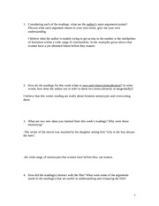 Race and Crime Worksheet With Answers