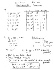 EE4368 HW Set #5 Solutions