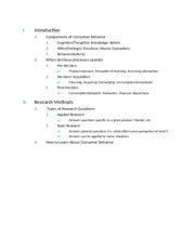 MAR 3503 Study Guide ex3