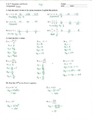 math algebra granby high page course hero 2 pages assignment 7 1 answer key