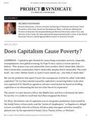 Does Capitalism Cause Poverty by  Hausmann Project Syndicate.pdf