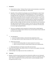 Microsoft Word Outline and Rubric Evaluation (PDF)