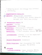 Experimental Methods Notes