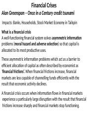 Session 10 Financial Crisis(1)