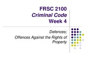 FRSC 2100H Week 4 Lecture 4
