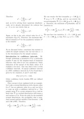 Math 218 Continuous Distribution Notes