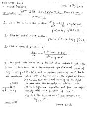 MAT219 Fall 2013-2014 Midterm-1 Exam Questions & Solutions.pdf