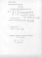 MATH 152 MIDTERM 1 2011 SOLUTIONS