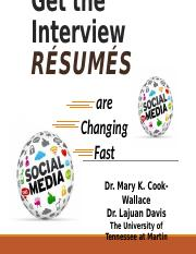 Resumes_are_Changing INFS 351, 330.pptx