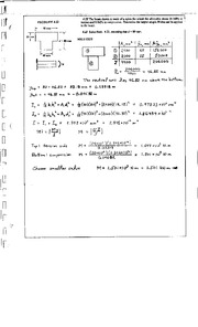 309_Mechanics Homework Mechanics of Materials Solution