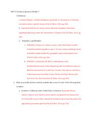 IHP 515 Textbook Questions Module 5.docx