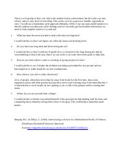 M5 Discussion Question Selecting a couseling approach.docx