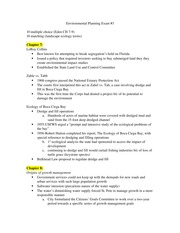Study Guide for Exam 3, Visions of Eden