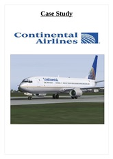 case study continental airlines Extracts from this document introduction course title: strategic management mbl 915 - p (a case study: gordon bethune and the turnaround of continental airlines.