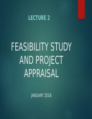 Lecture 2_Project Feasibility and Appraisal-King.ppt