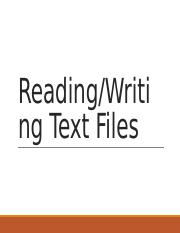 Lecture Slides 17 - File Reading-Writing.pptx