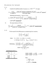 Homework E Solutions on Mechanical Properties of Structural Materials