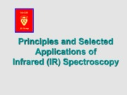 13-Oct-1-8-Lecture-Infrared Spectroscopy