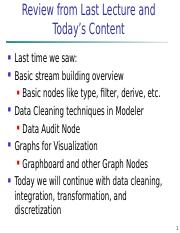 Lecture 3 - Data Cleaning and Integration.ppt