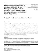 2.Examining the Role of Social Media in Effective Crisis Management.pdf