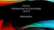 PS124 Unit 9  seminar PP 2015