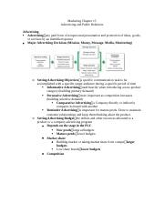 Marketing Chapter 15 - advertising and public relations.docx