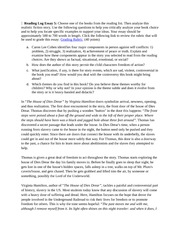lesson reading log rowling j k harry potter and the sorcerer s 3 pages lesson 5 reading log