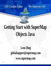 2 Getting Start with SuperMap Objects Java.pptx