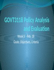 GOVT3118 Week 5 Goals Crit.pptx
