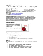 1301-syllabus-fall2006