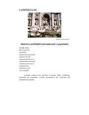 International mobility of population lecture note