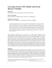 Learning About CEO Ability and Stock Return Volatility.pdf